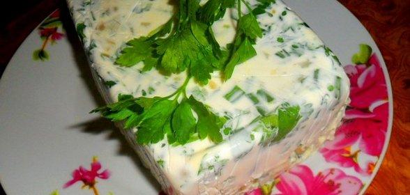 Салат с желе фото