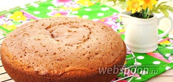 Пошаговый рецепт с вкусного бисквита