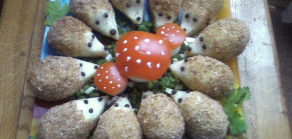 картофельная с ежики рецепт с фото