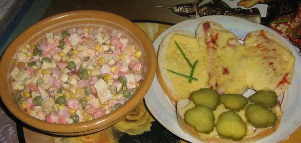 Легкий ужин с пошагово