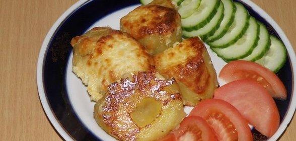 Печёная картошка в духовке рецепт с фото пошагово