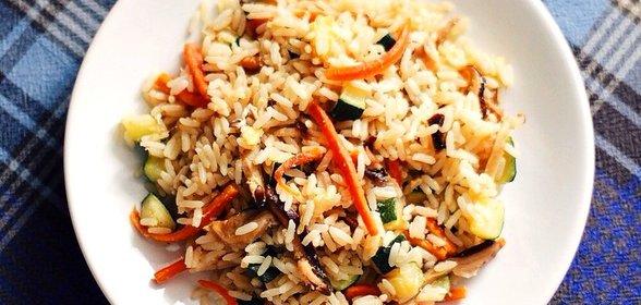Жареный рис с яйцом по-китайски рецепт пошагово