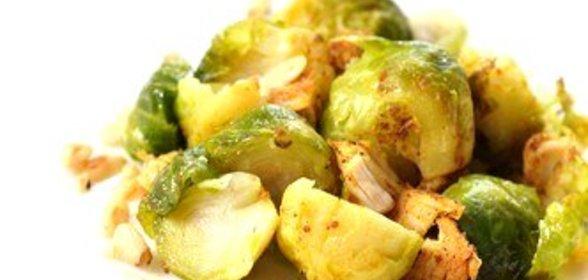 брюссельская капуста жареная рецепты
