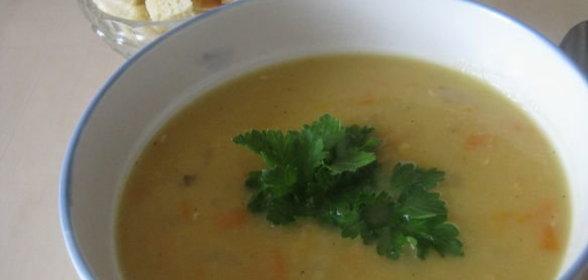 Суп гороховый простой с мясом пошаговый