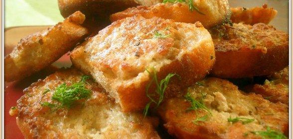 Горячие бутерброды в духовке с фаршемы