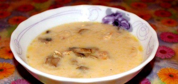 Рецепт сырного супа пошагово