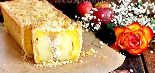 Пирог с целыми яблоками рецепт