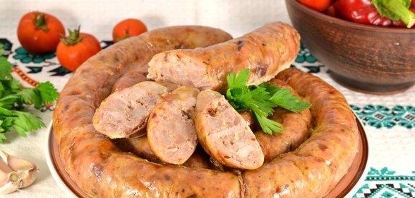 мясные колбаски рецепт с фото