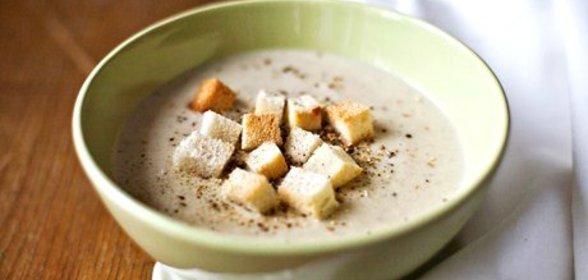 Суп крем из шампиньонов сливки картофель