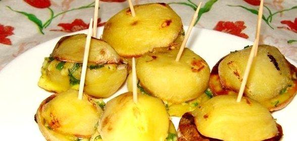 Картошка в духовке пошаговый рецепт