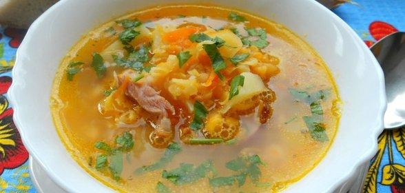 Гороховый куриный суп рецепт пошагово