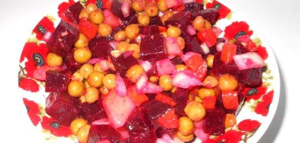 Вкусные салаты с фото с консервированным горошком