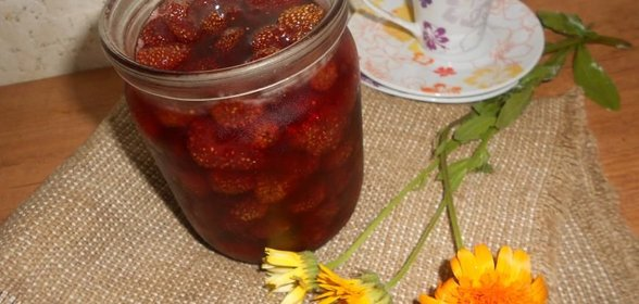 Клубничное варенье рецепт с фото пошагово