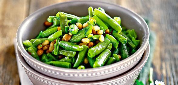 Рецепты зеленой фасолью фото
