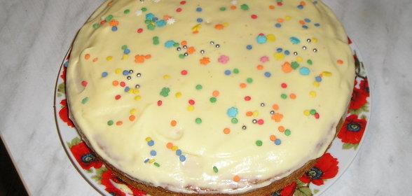 Торт бисквитный рецепты простые в домашних условиях с пошагово простые
