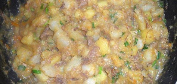 Тушенка с картошкой в домашних условиях