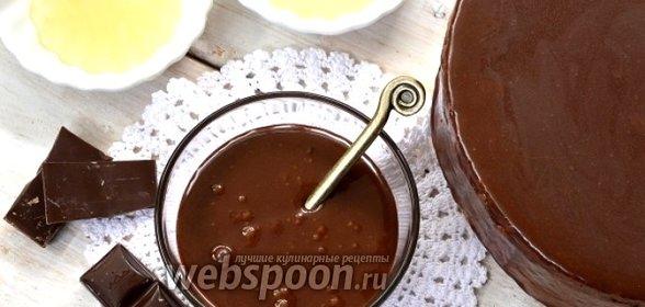 Мусс шоколадный в глазури зеркальной рецепт