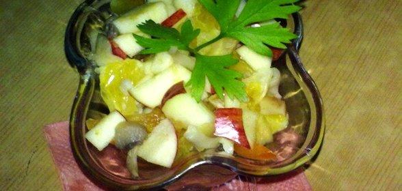 Салат из шампиньонов в домашних условиях