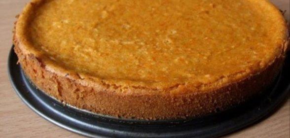 Тыквенный бисквит рецепт с фото