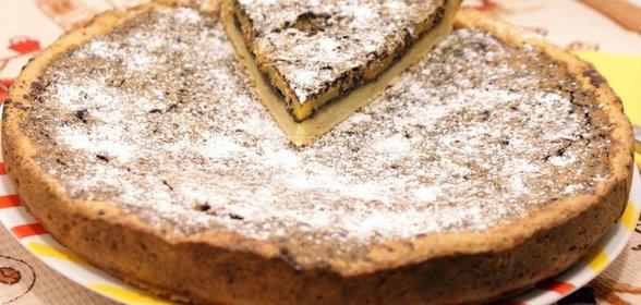 Пирог с консервой рецепт пошагово в духовке