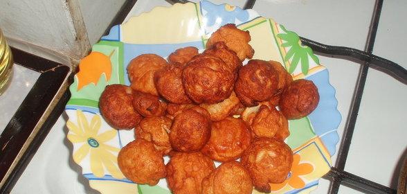 Пончики с мясом рецепт с фото