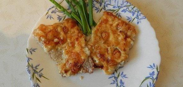 Мясо с картошкой под сыром рецепт пошагово в духовке