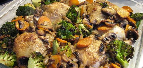 грибы курочки фото рецептами