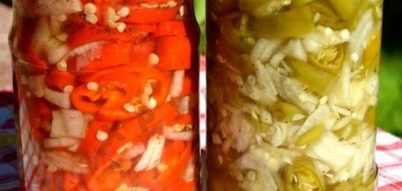 Маринованный острый перец простой рецепт