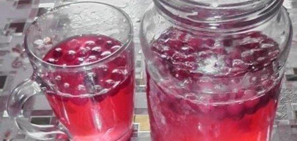 Компот с клюквой рецепт