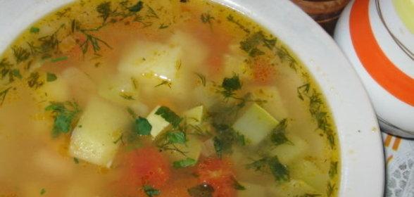 Суп с кабачками рецепт с фото пошагово