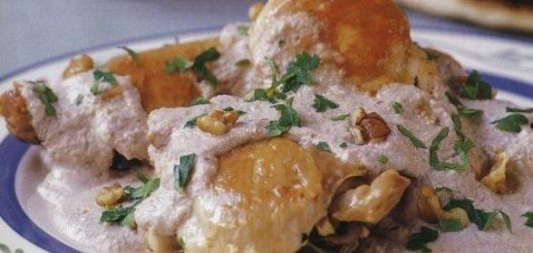 Рецепт с ореховым соусом
