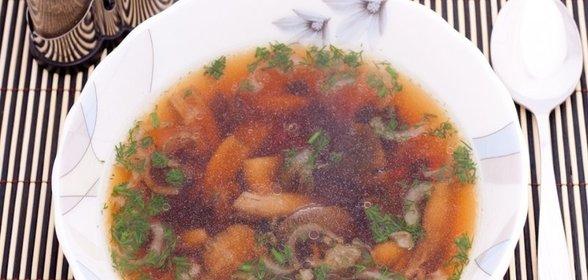 Суп с шампиньонами консервированными рецепт с фото пошагово