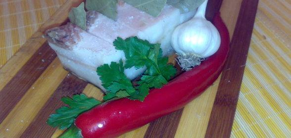 Как засолить сало с чесноком рецепт с пошагово
