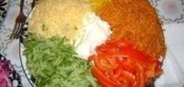 Салат светофор рецепт фото