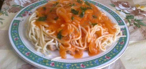 Постные макароны рецепт с пошагово в