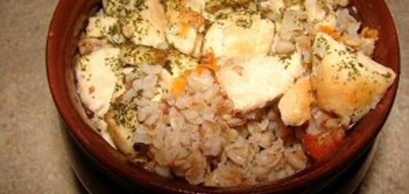 Рецепт курицы в горшочках с гречкой в духовке рецепт с пошагово