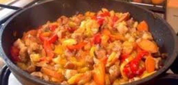 Овощное рагу с мясом и картошкой и кабачками рецепт с фото в мультиварке