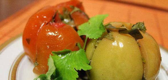 острые зеленые помидоры рецепты с фото