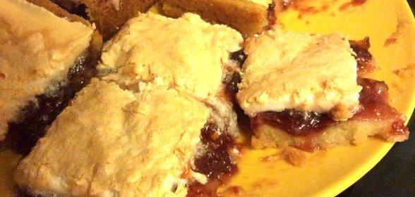 Лимонный пирог в духовке рецепт фото