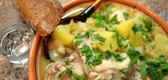 Картошка в курицей в горшочке в духовке рецепт пошагово в