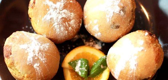 Маффины с апельсином рецепт с фото