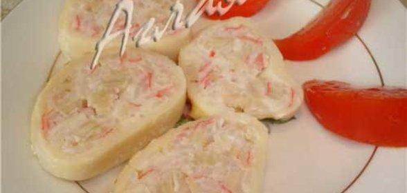 Фаршированный кальмар рецепт с пошагово