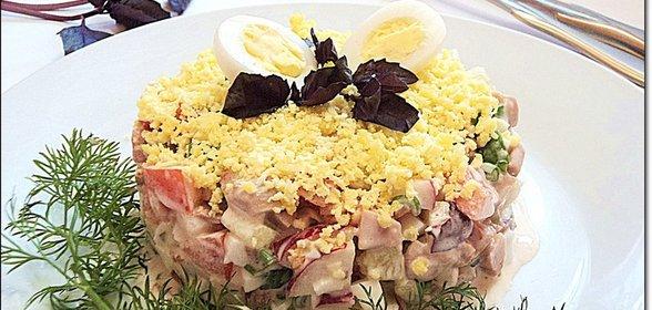 Салат семерка рецепт с
