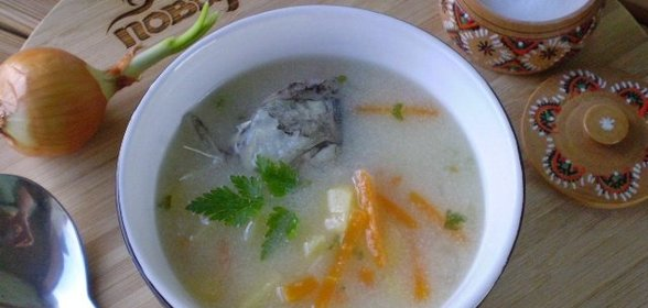 Суп из рыбы рецепт с фото пошагово