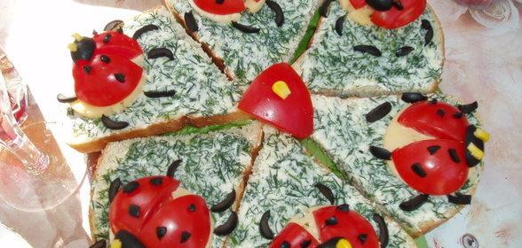 Рецепт бутербродов к празднику