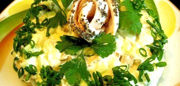 Рецепт французских салатов в домашних условиях