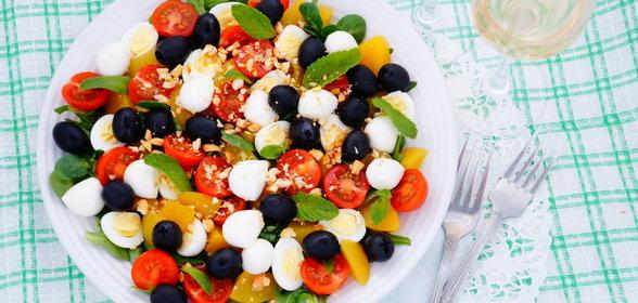 Рецепт салата лето с