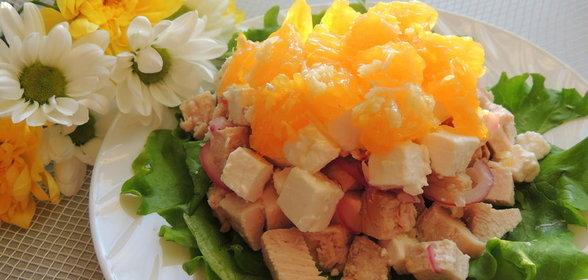 Салат солнечный рецепт и фото