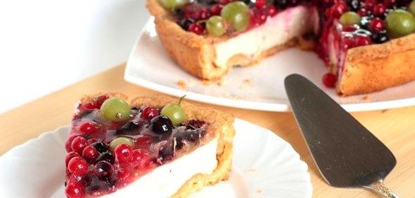 Пироги из песочного теста с ягодами рецепты с