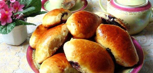 пирожки с курицей в духовке пошаговый рецепт